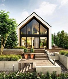 "Páči sa mi to: 9,355, komentáre: 41 – Interior Design & Architecture (@homeadore) na Instagrame: ""Modern Cabin by SK Architects 🔥"""