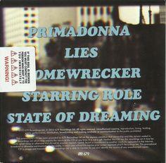 Marina & The Diamonds - Electra Heart Album Sampler (Promo) [Back Cover]