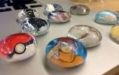 Manualidades Utilísima, Imanes con gemas de vidrio