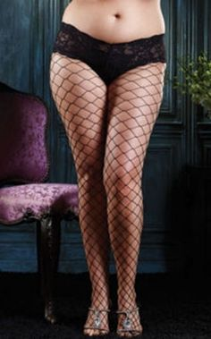 ADULTS FENCE NET WHITE BRIGHT TIGHTS ONE SIZE