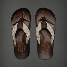 Leather flipflop for men⋆ Men's Fashion Blog - TheUnstitchd.com