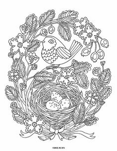 9 Free Printable Adult Coloring Pages | Pat Catan's Blog