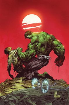 Bruce Banner loses to the Hulk
