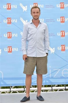 Tom Felton attends the 45th Giffoni Film Festival in Italy on July 21, 2015.