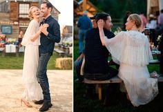 Há duas semanas, nós mostramos algumas ideias de vestidos de noiva com capa. Mas achei que seria importante mostrar também alguns modelos com capas curtas,