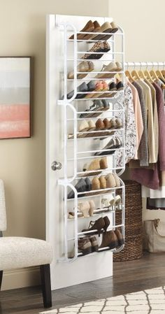 Incroyable 23 Best Over Door Shoe Rack Images On Pinterest | Shoe Cubby, Shoe Racks  And Organizing Ideas