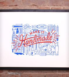 Make It Handmade Print by Schafer Design on Scoutmob Shoppe