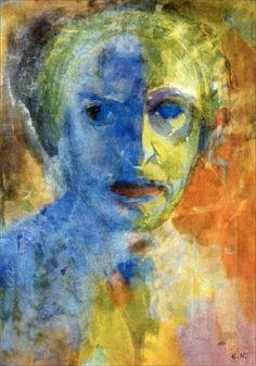 Emil Nolde · Autoritratto · 1912 · Ubicazione ignota