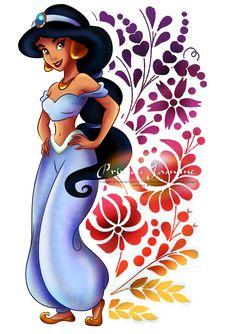 Princess Jasmine by ~selinmarsou on deviantART