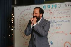 Mr. K is very excited about... something. #GoOn #MrK #BrettGelman