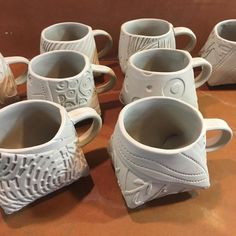 For many years, pottery has played an integral role in society, with many people collecting and making their own different variety. In some cases, ancient pottery has been sold for thousands, if no… Hand Built Pottery, Slab Pottery, Pottery Mugs, Pottery Bowls, Ceramic Pottery, Ceramic Teapots, Ceramic Cups, Porcelain Mugs, Ceramic Art