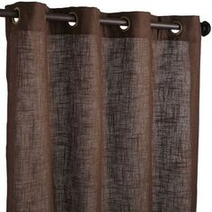 "Blythe Curtain - Brown-Guest Bedroom 96"" 24.99"
