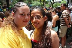 Univision News Tumblr, Gay and proud: Latinos share their coming-out stories at NYC's Pride March