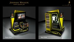 johnnie walker display