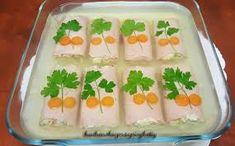 Znalezione obrazy dla zapytania sałatka w szynce i galarecie Sushi, Japanese, Ethnic Recipes, Food, Japanese Language, Essen, Meals, Yemek, Eten