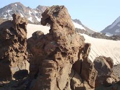 Sabalan Mountain in Iran عقاب داشی
