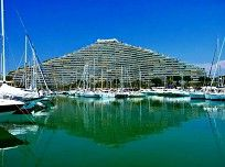 Marina Baie des Anges - in the port