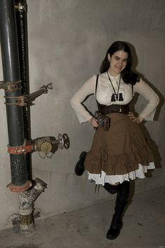steampunk lolita!! I would totally rock this