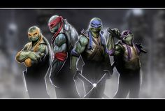 I don't remember TMNT ever looking this cool...