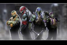 black ninja movie | Teenage Mutant Ninja Turtles Reboot - Two Roles Casted! - CinemaBoyZ ...