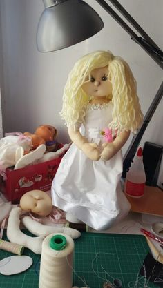Proceso de elaboración de mis muñecas soft
