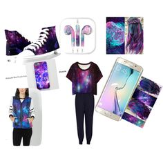 Child of the Galaxy by sliento4life on Polyvore featuring French Connection and Samsung