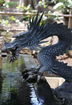 Chinese Dragon Water Fountain