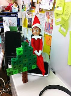 Okay, I MIGHT be able to get behind Elf on the Shelf if he's at school.