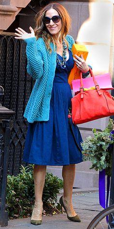 Representante del estilo urbano y fashion de la ciudad - Sarah Jessica Parker