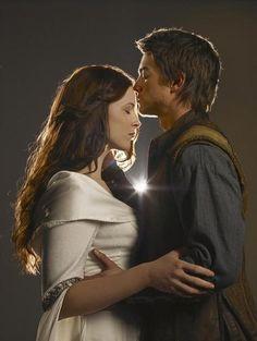 Bridget Regan and Craig Horner on  Legend of the Seeker