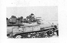 SdKfz 251/1 Ausf C in the area of Kharkov 1943.