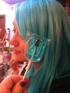Stinger blue, I believe it's called.