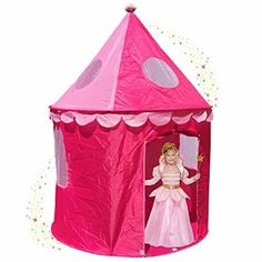 Pink Princess Castle Play Tents for Girls w/ Sunroof - Unique Pop Up Children Play  sc 1 st  Pinterest & Designer Princess Castle Play Tents for Girls w/ Sunroofu2026   Peyton ...
