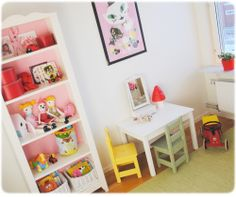 My youngest daughters room Daughters Room, Hem, Kidsroom, Table And Chairs, Girls Bedroom, Savannah, Little Girls, Toddler Bed, Room Ideas