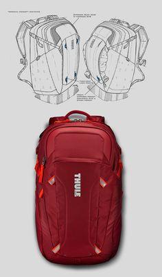 Thule EnRoute 2 Daypacks on Behance