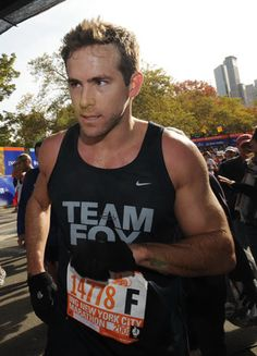 Ryan Reynolds is an avid #runner and #celeb.