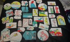 Go Dog Go Dr Suess P D Eastman Scrapbooking die cuts by amylaugh, $5.75