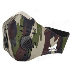 Acacia Outdoor Cycling Neoprene Face Mask - Camouflage (Size XL) Price: $8.80
