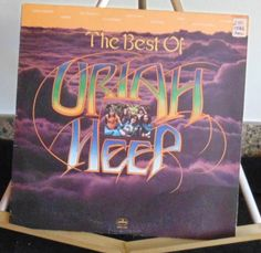 Uriah Heep Lp The Best Of Uriah Heep Near Mint #HardRock