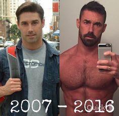 "bigbadbeards: "" beardburnme: "" greatcanadians on Instagram "" Much hotter now! """