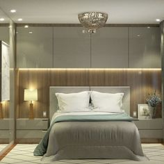Small room: 60 images to inspire you! – Decor Tips - Schlafzimmer Room, Bedroom Cupboard Designs, Apartment Interior, Living Room Interior, Bedroom Inspirations, Bedroom Decor, Bedroom Bed Design, Home Interior Design, Interior Design