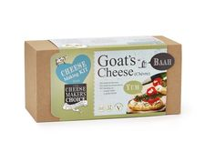 Goat's Cheese Making Kit Cheese Maker, How To Make Cheese, Goat Cheese, Goats, Kit, Goat