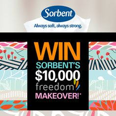 Enter now for a chance to win $10,000 towards your dream home decor!