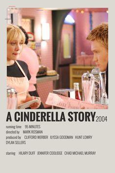 Alternative Minimalist Movie/Show Polaroid Poster - A Cinderella Story Iconic Movie Posters, Minimal Movie Posters, Minimal Poster, Film Posters, Iconic Movies, Disney Movie Posters, Band Posters, Titanic Film, Film Maker