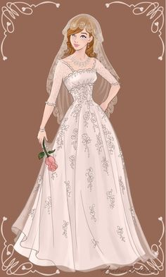Wedding Jane Foster by isabellerecs on DeviantArt Disney Princess Fashion, Disney Princess Pictures, Disney Princess Art, Fashion Drawing Dresses, Doll Divine, Dress Sketches, Dress Drawing, Fashion Design Sketches, Designer Wedding Dresses