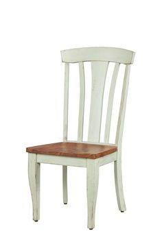 This vintage southern styled dining chair relies heavily on the charm and grace of the French Country style, but, handcrafted by American woodworkers, has a distinct early American twist. Furniture making itself is an art. And American craftsmen are still the best! Handcrafted in Pennsylvania from the highest quality solid hardwoods, this French Country dining room chair meets the highest standards of comfort, stability, durability, and ... beauty, of course.