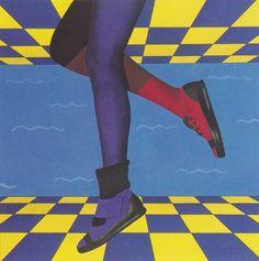 David Rickerd (1984) #80s #design Retro Pop, Retro Vintage, 80s Pop, Hipster Fashion, Pop Fashion, Vaporwave Fashion, 80s Aesthetic, Retro Images, Airbrush Art