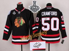 Only  34.88 please email me at maryjerseyelway gmail.com for Blackhawks 50  Corey Crawford Black Autographed 2015 Stanley Cup Stitched NHL Jersey f1e8f2fe1