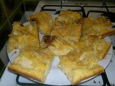 Meine Spezialität: Apfel-Zimt Kuchen mit karamellisierten Mandeln. Kam geschmacklich seeehr gut an :)