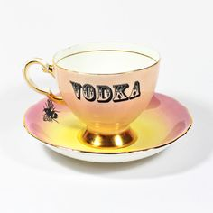 Vodka in a Teacup by yvonneellen on Etsy